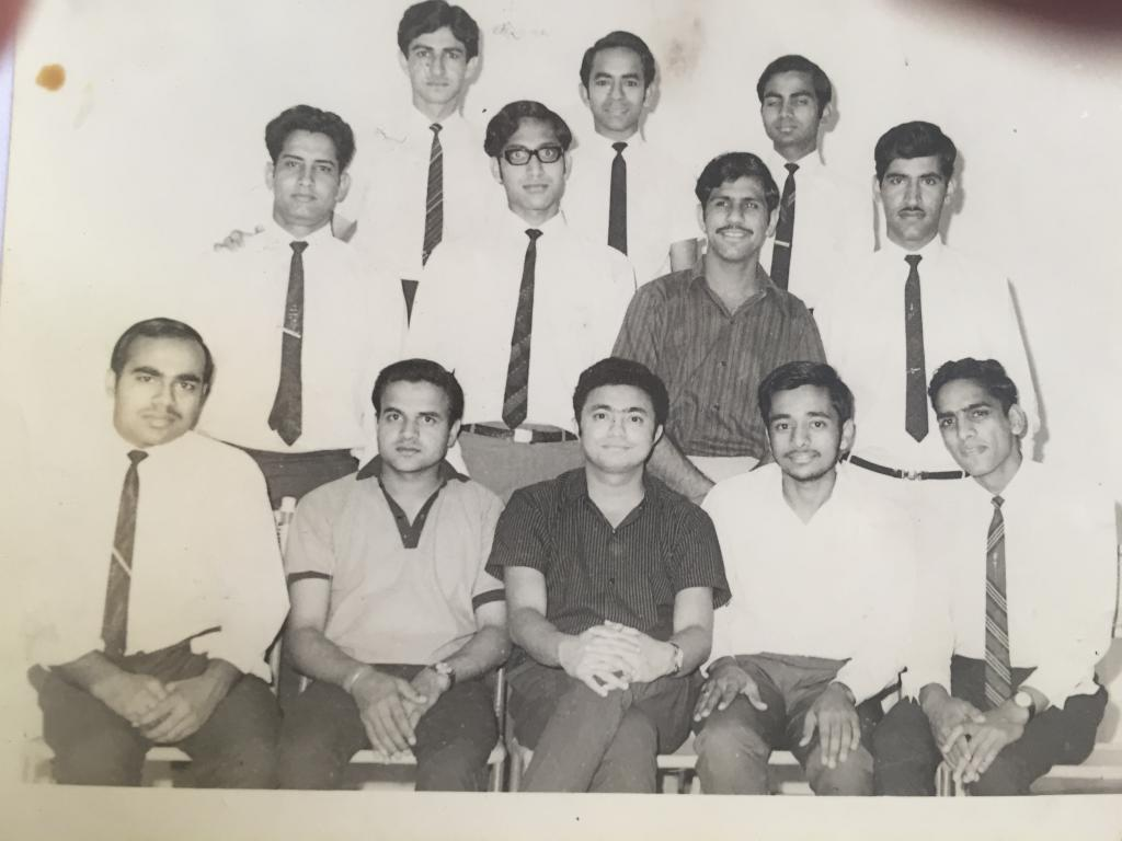 KS (Top Left) with the Delhi Group 65 & 66 Batches